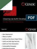 Cleaning Up Ajax Development-Lars Ewe