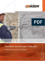 Newton Diathonite - Insulation Plaster