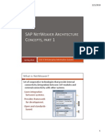 02--SAP NetWeaver Architecture, Part 1