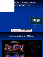 Dna Based Employee Recognition