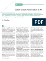 March 2011 ID State of the Touch Screen Market
