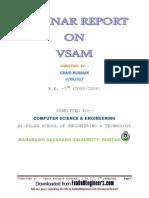 Virtual Storage Access Method Seminar Report on Vsam