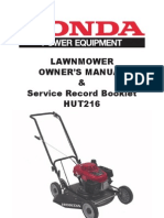 Honda Mower HUT216 Bee Wasp Removal Sydney 0423688352