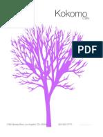 Kokomo PDF Menu