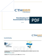 Housekeeping and Accomodation Operations