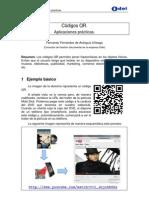 Códigos QR. Aplicaciones practicas.