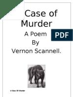 A Case of Murde1