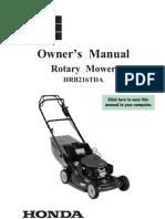Honda Mower HRB216TDA Wallpaper Removal Sydney Call 0423688352