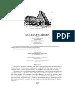 Madeira Exiles of Madeira PDF
