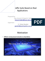 1 a NoC Traffic Suite Based on Real Applications