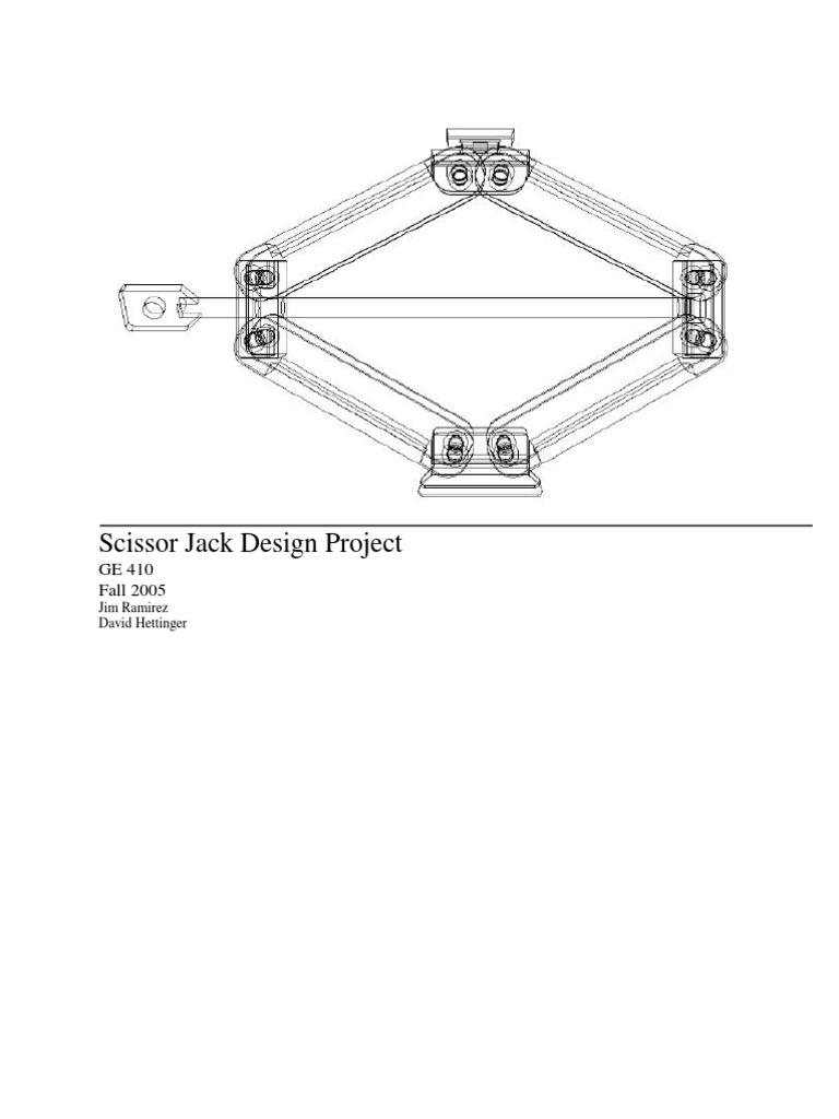 Design of car jack - Design Of Car Jack 12