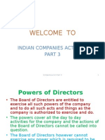 Companies Act Part 3