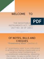 NI Act (Part 1)