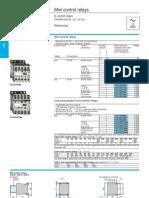 Telemecanique Mini Control Relays Technical (1)