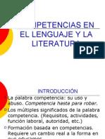 Competencias de Lenguaje y Literatura