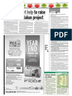 TheSun 2008-12-12 Page30 TNB Seeks Govt Help to Raise Financing for Bakun Project