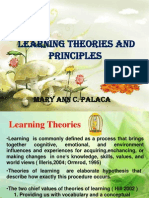 Learning Theories and Principles Ppt.