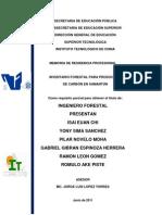 Inventario Forestal - Trabajo Final