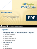 Reviewing web development - SMaDL, the Social Machines' Domain-specific Language