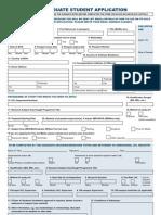 Graduate Application Form