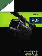 Catálogo HVR-V1N