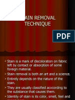 Stain Removal Ppt