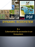 8.2 Colonisation n Succession