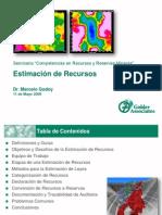 Estimacin de Recursos - Marcelo Godoy