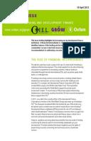 Risky Business: Intermediary lending and development finance
