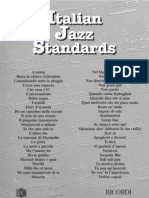 (Real Book) Antonio Ongarello - Italian Jazz Standards