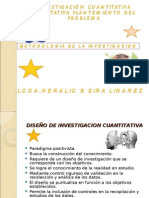 DISEÑO DE INVESTIGACION CUANTITATIVA CUALITATIVA HERALIC SIRA