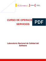 Curso de Operación de Servicios