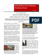Robert Owen Museum Newsletter April 2012