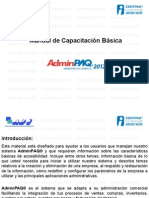 Manual de AdminPAQ® 2012