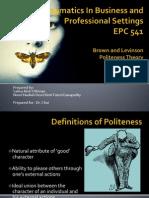 51724919 Politeness Theory Pragmatics