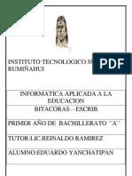Informatica Aplicada a La Educacion