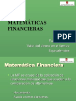 Diapositivas Matematica Financiera