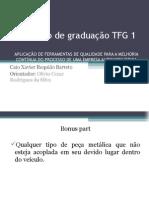 Apresentação do TFG 1 - Caio Xavier (REV.01)