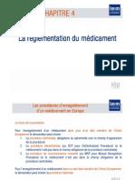 Règlementation du Médicament partie 2