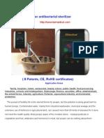 Ozone Water Sterilize 1