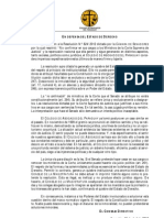 Comunicado del Colegio de Abogados Del Paraguay