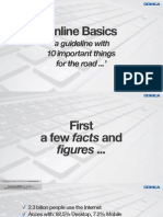 Online Basics - A Guideline With 10 Important Things for the road
