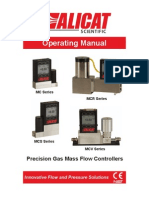 Gas Flow Controller Manual