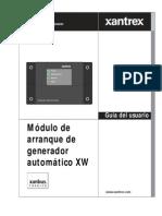 XANTREX AGS Modulo Arranque Generador Automatico Serie XW Manual Usuario ES