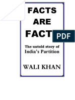 Facts Are Facts - Untold Story of India Partition by Wali Khan - PDF