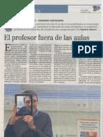 El profesor fuera de las aulas - ELMUNDO-CyL Emprendedores 16042012