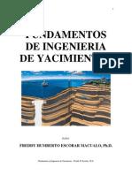Fundamentos de Ingeniería de Yacimientos - Freddy Escobar