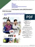 FIFA 12 2012 [PC Full] Español Latino [ISO] Reloaded 2 DVD5 Descargar