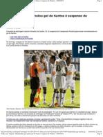 Folha.com - Esporte - Bandeirinha que anulou gol do Santos é suspenso do Paulista - 10_04_2012