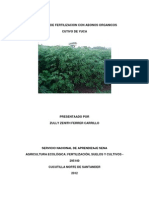 Programa de Fertilizacion Con Abonos Organicos